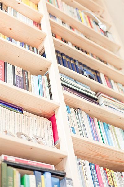 Lundia original bibliotheek op maat gemaakt for Boeken opbergsysteem