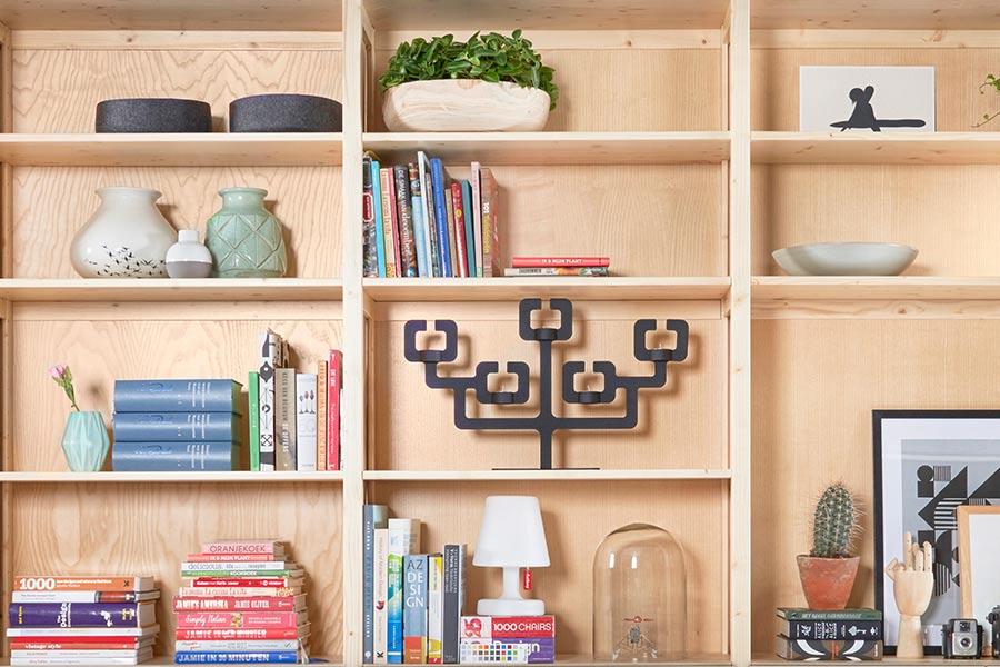 Lundia Original boekenkasten   Op maat gemaakt
