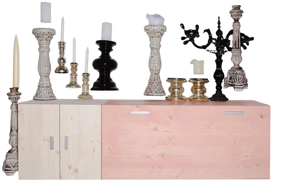 Idee dressoir roze afbeeldingen : Lundia Original dressoirs | Op maat gemaakt